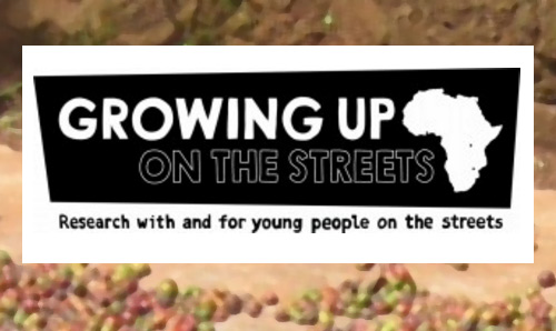 Growing up on the streets logo